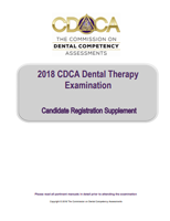 Dental Therapy Candidate Registration