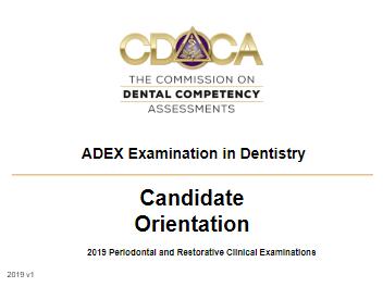 Candidate Orientation