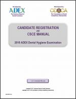 dental hygiene exam manuals cdca rh cdcaexams org