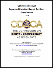 2018 Expanded Function Dental Auxiliary Manual