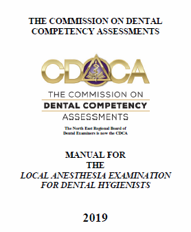 Local Anesthesia Manual – for dental hygienists