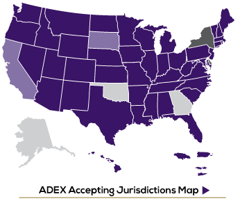 ADEX Member Map